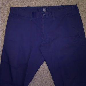 "J.Crew ""The Driggs"" Chino pants."